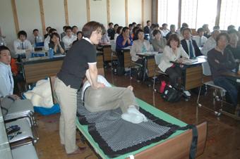 講師 下元佳子氏「床ずれ予防するためのケアについて」